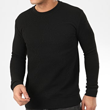 Sweat Crewneck HD-8 Noir