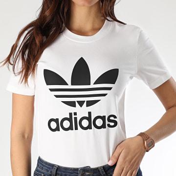 Tee Shirt Femme Trefoil FM3306 Blanc