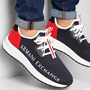 Baskets XUX058-XV216 Navy Red