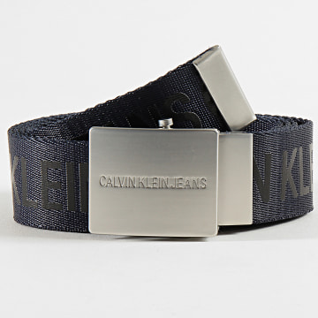 Calvin Klein - Ceinture Logo Tape Plaque 5769 Bleu Marine