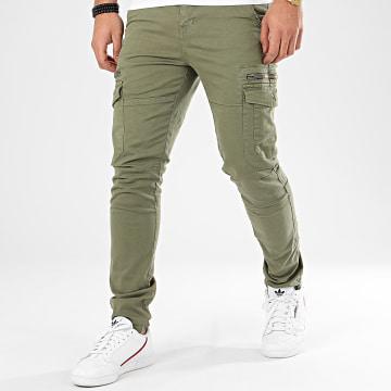 Pantalon Cargo Danakil Vert Kaki