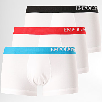 Emporio Armani - Lot De 3 Boxers 111357-CS713 Blanc