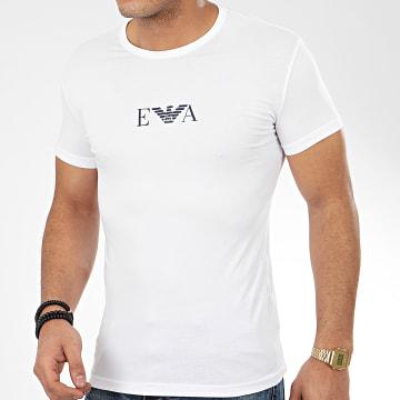Tee Shirt Slim 111035-0P715 Blanc