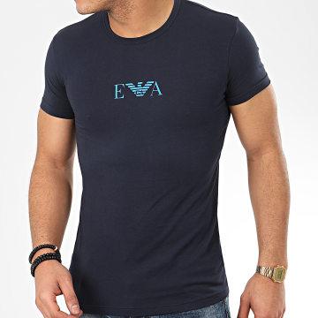 Tee Shirt Slim 111035-0P715 Bleu Marine