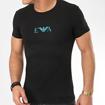 Tee Shirt Slim 111035-0P715 Noir