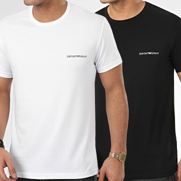 Lot De 2 Tee Shirts 111267-0P717 Noir Blanc