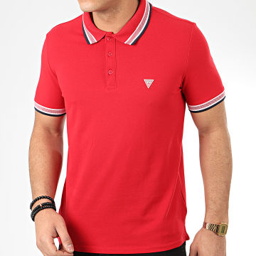 Polo Manches Courtes M02P40-K7O60 Rouge