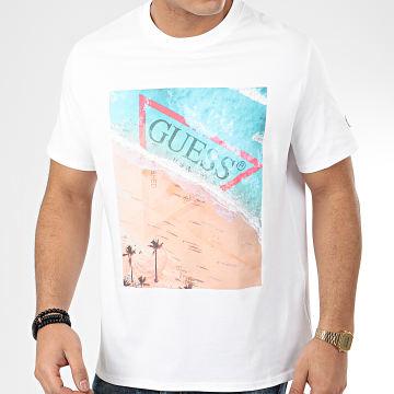 Tee Shirt M0GI66-I3Z00 Blanc