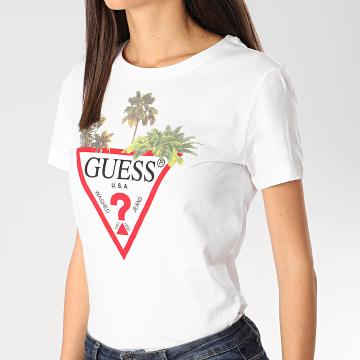 Guess - Tee Shirt Femme W0GI52-JA900 Blanc