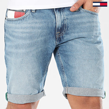 Short Jean Scanton Heritage 8042 Bleu Denim