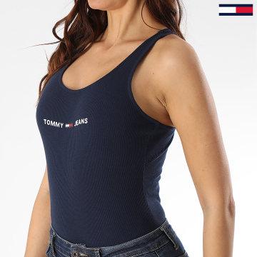 Tommy Jeans - Body Débardeur Femme Strap 8004 Bleu Marine