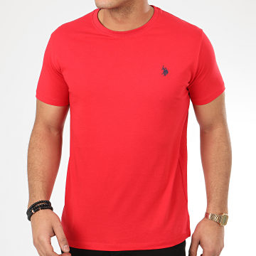 Tee Shirt DBL Horse Logo Rouge