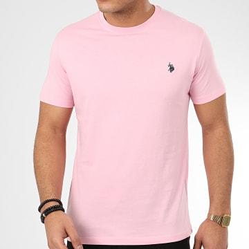 Tee Shirt DBL Horse Logo Rose