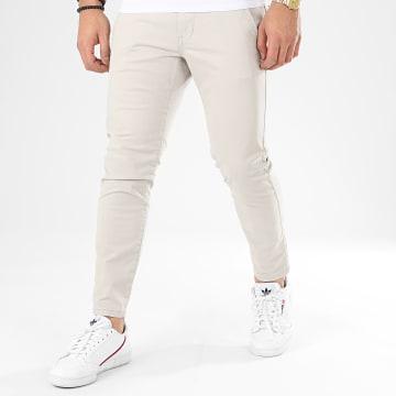 Esprit - Pantalon Chino 010CC2B301 Gris Clair