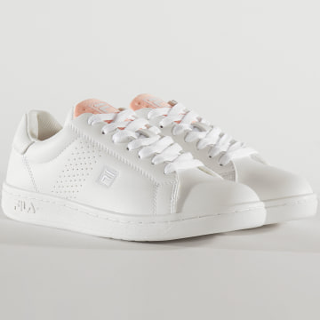 Baskets Femme Crosscourt 2 Low 1010900 White Coral Pink