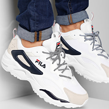 Baskets Ray Tracer CB 1010925 White Fila Navy