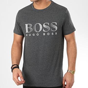 Hugo Boss - Tee Shirt RN UV-Protection 50407774 Gris Chiné
