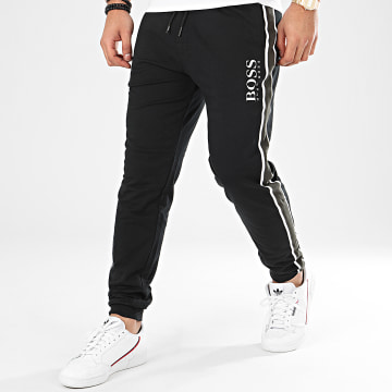 Pantalon Jogging A Bandes Authentic 50424796 Noir