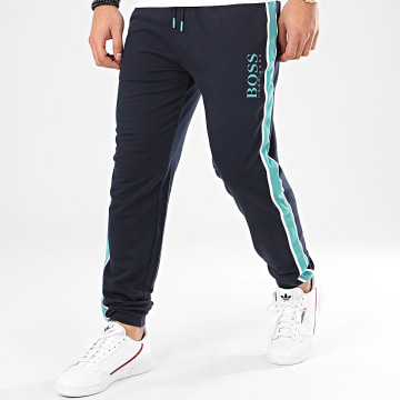 Pantalon Jogging A Bandes Authentic 50424796 Bleu Marine