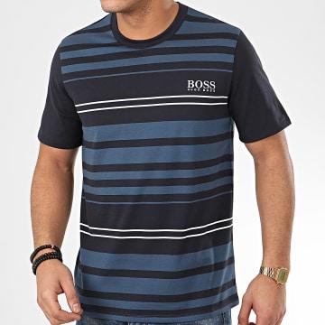Tee Shirt Fashion 50424991 Bleu Marine Bleu Clair