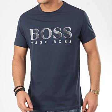 Hugo Boss - Tee Shirt RN UV-Protection 50407774 Bleu Marine