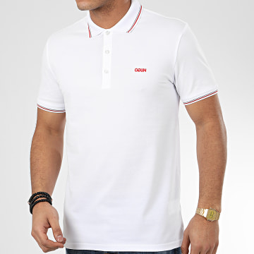 HUGO by Hugo Boss - Polo Manches Courtes Dinoso 202 50425770 Blanc