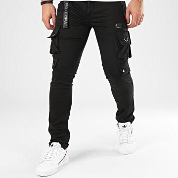 Pantalon Cargo 1990018 Noir