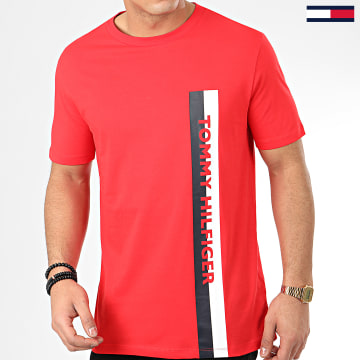 Tee Shirt Crew Neck 1744 Rouge