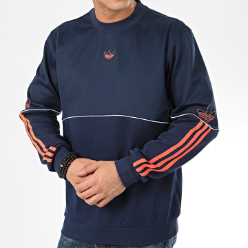 Sweat Crewneck Outline FM3918 Bleu Marine