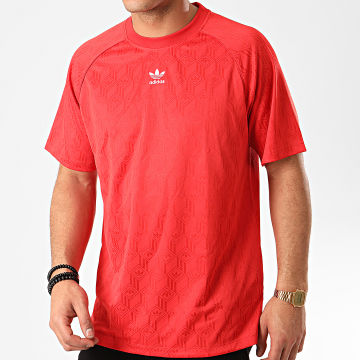 Adidas Originals - Tee Shirt De Sport Mono FM3405 Rouge