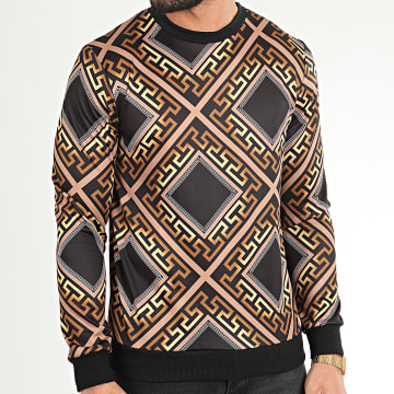 Classic Series - Sweat Crewneck TM0273 Noir Renaissance