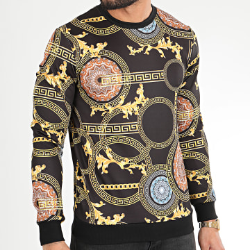 Classic Series - Sweat Crewneck TM0274 Noir Renaissance