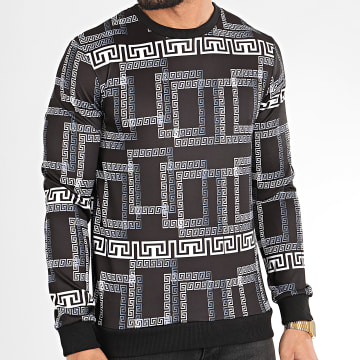 Classic Series - Sweat Crewneck TM0242 Noir Renaissance