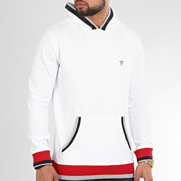Sweat Capuche M0GQ82-K6ZS0 Blanc