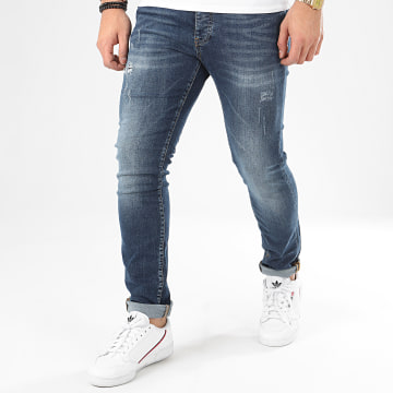 John H - Jean Slim 8968 Bleu Denim