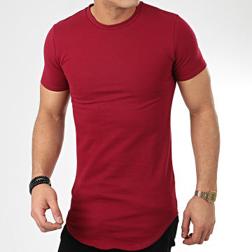 Tee Shirt Oversize T20003 Bordeaux