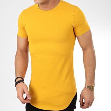Tee Shirt Oversize T20003 Jaune Moutarde