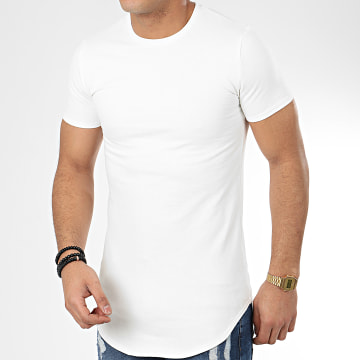 John H - Tee Shirt Oversize T20001 Ecru