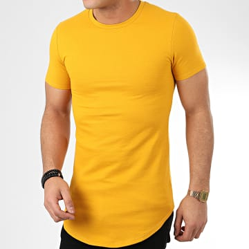 Tee Shirt Oversize T20001 Jaune Moutarde