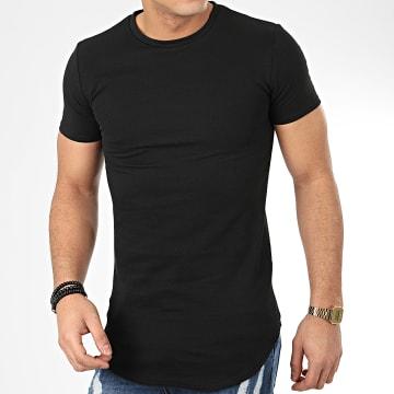 John H - Tee Shirt Oversize T20001 Noir