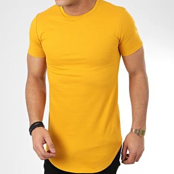 Tee Shirt Oversize T20002 Jaune Moutarde
