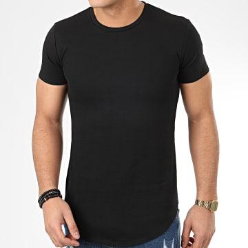 John H - Tee Shirt Oversize T20002 Noir
