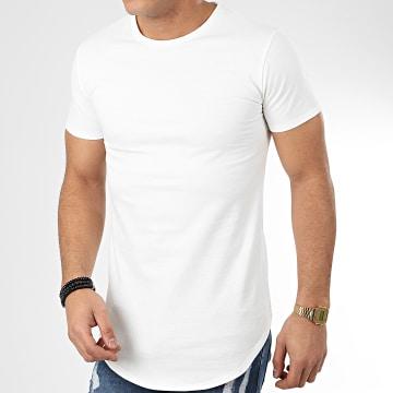 John H - Tee Shirt Oversize T20002 Ecru