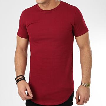 Tee Shirt Oversize T20002 Bordeaux