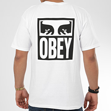 Tee Shirt Eyes Icon 2 Blanc