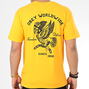 Tee Shirt Demon Bird Jaune