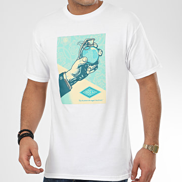 Obey - Tee Shirt Royal Treatment Blanc