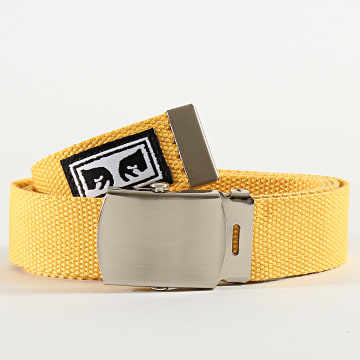 Obey - Ceinture Big Boy Jaune