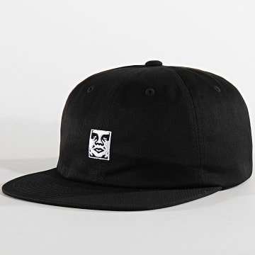 Obey - Casquette Icon 6 Panel Noir