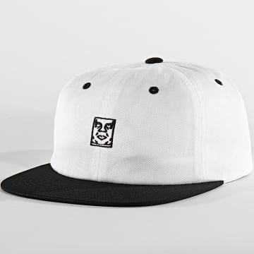 Obey - Casquette Icon 6 Panel Blanc